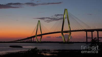 Photograph - Ravenel Bridge by ELDavis Photography