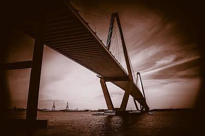 Gerald Monaco Photograph - Ravenel Bridge by Gerald Monaco
