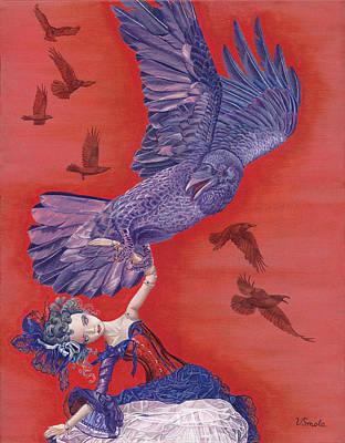 Theft Painting - Ravenous by Vlasta Smola