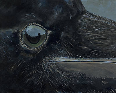 Raven's Eye Art Print