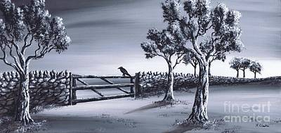 Painting - Ravens Gate by Kenneth Clarke