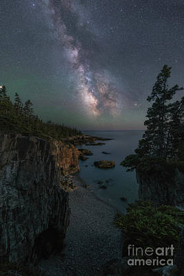 Photograph - Ravens Nest Under The Stars  by Michael Ver Sprill