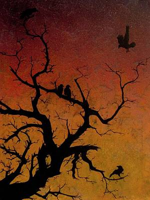 Painting - Ravens Roost by Jack Malloch