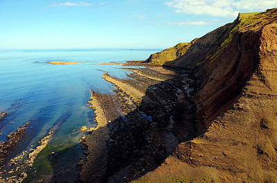 Ravenscar Cliffs Print by Svetlana Sewell