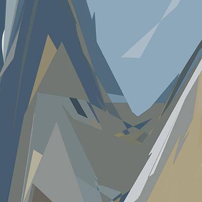 Digital Art - Ravine by Gina Harrison