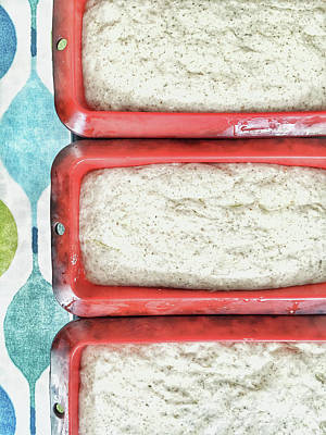 Raw Bread Dough Art Print by Tom Gowanlock