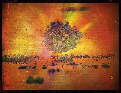 Raw Explosion Art Print by Justus Herrmann