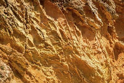 Photograph - Raw Geology - Hot Rough Ribs by Georgia Mizuleva
