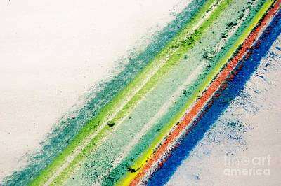 Art Print featuring the pastel Raw by Kristine Nora