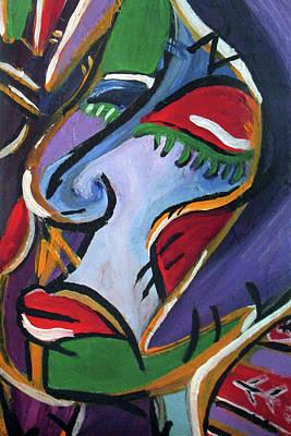 Painting - Raw Loop by Romy Kelly