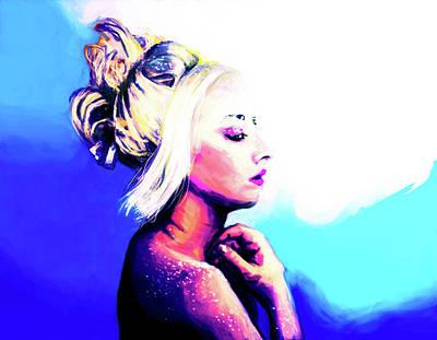 Digital Art - Raw by Michael Amos