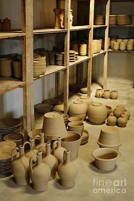 Azoren Photograph - Raw Pottery by Gaspar Avila