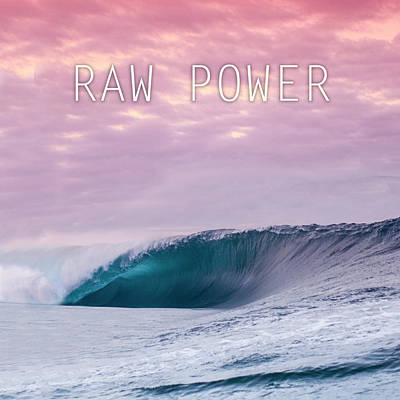 Nature Abstracts Photograph - Raw Power by Sean Davey