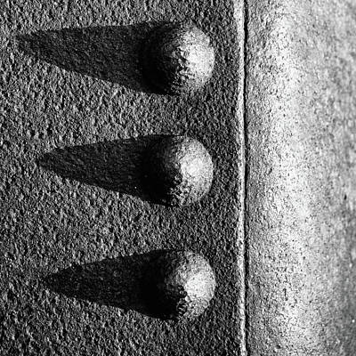 Photograph - raw steel No.2 by Tom Druin