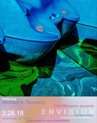 Photograph - Rawartist by Michael Nowotny