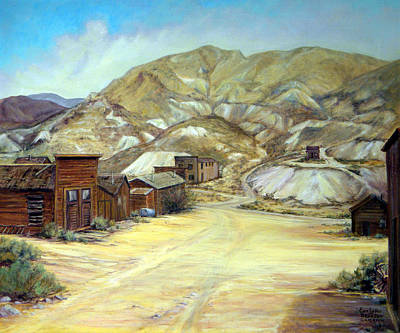 Painting - Rawhide Nevada by Evelyne Boynton Grierson