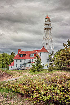 Photograph - Rawley Point Lighthouse 2 by Susan Rissi Tregoning