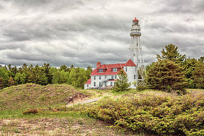 Photograph - Rawley Point Lighthouse by Susan Rissi Tregoning