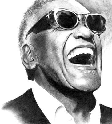 Jazzy Drawing - Ray by Alexander Gradjushko