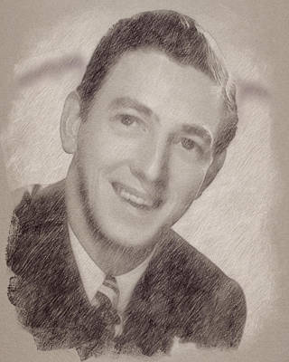 Celebrities Paintings - Ray Bolger by Esoterica Art Agency