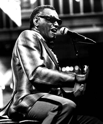 Ray Charles, Ca. 1980 Art Print by Everett