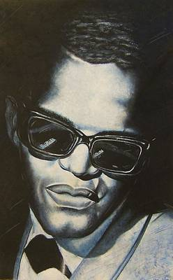 Painting - ray Charles by Darryl Matthews
