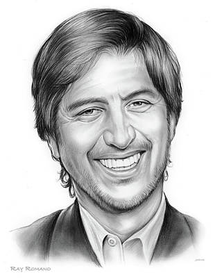 Stood Drawing - Ray Romano by Greg Joens