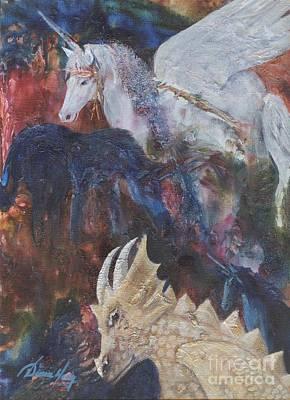 Painting - Rayden's Magic by Denise Hoag
