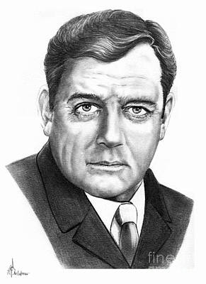 Raymond Burr Original by Murphy Elliott