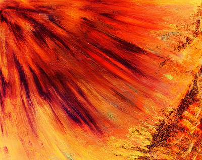 Mixed Media - Rays Of Purification by Dorothy Berry-Lound
