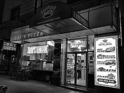 Photograph - Rays Pizza 54th And 7th by Robert Meyers-Lussier