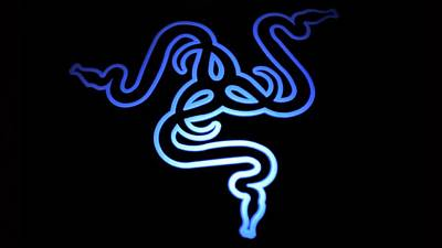 Blue Digital Art - Razer Neon Blue by Maye Loeser
