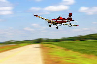 Photograph - Razorback Flyby - Crop Duster - Ag Pilot by Jason Politte