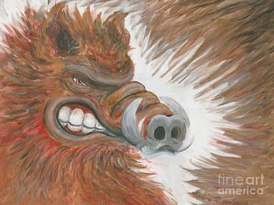 Razorback Fury Original by Nadine Rippelmeyer