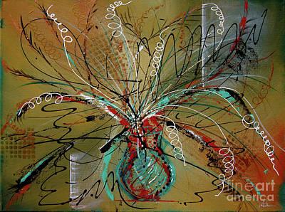 Painting - Razzle Dazzle by Vicki Pelham