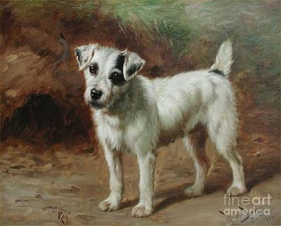 Wright Barker Painting - Rba Rag by MotionAge Designs