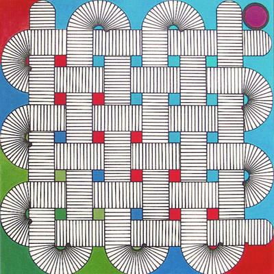 Drawing - Rbf1003 Variation II Diagonal by Robert F Battles