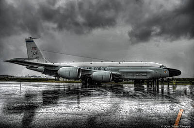 Rivets Photograph - Rc-135vw by Ryan Wyckoff