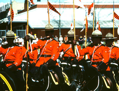 Rcmp Musical Ride Art Print