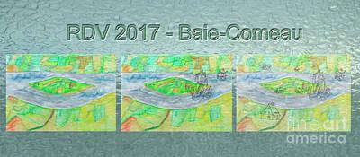 Rdv 2017 Baie-comeau Mug Shot Art Print by Dominique Fortier