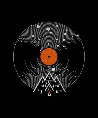 Live Music Drawing - Re/cordless by Mustafa Akgul