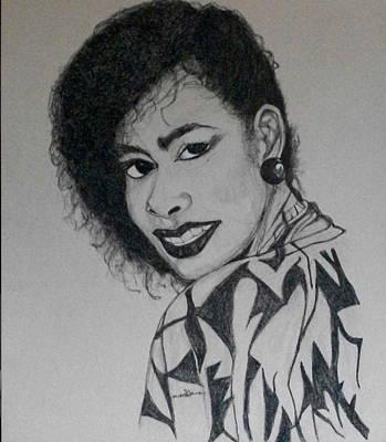 Drawing - R.e. Memorial Custom Portrait  by Michelle Gilmore