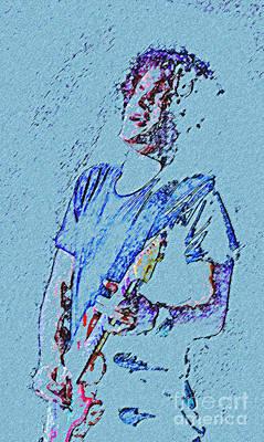 John Mayer Painting - Reach Down Deep by John Travisano