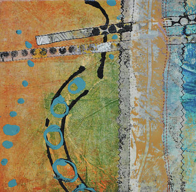 Mixed Media - Reach For The Sky 1 by Kate Word
