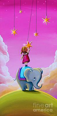 Reach For The Stars Art Print by Cindy Thornton