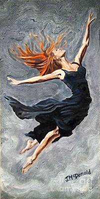 Painting - Reach For The Stars by Janet McDonald