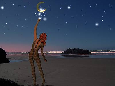 Digital Art - Reach For The Stars by Nancy Pauling