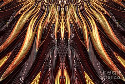 Fantasy Digital Art - Reach for the sun by John Edwards