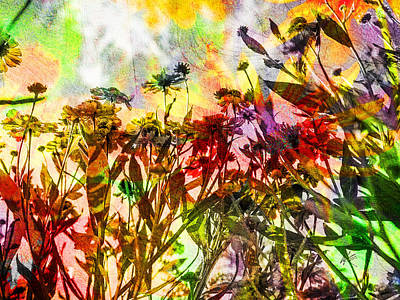 Digital Art - Reach For The Sun by Kiki Art