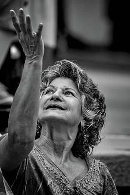 Photograph - Reach Out by John Haldane